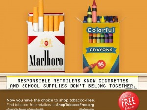 Support Tobacco-Free Retailers and #ShopTobaccoFree